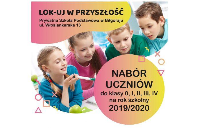 Informacja o naborze uczniów na rok szkolny 2019/2020