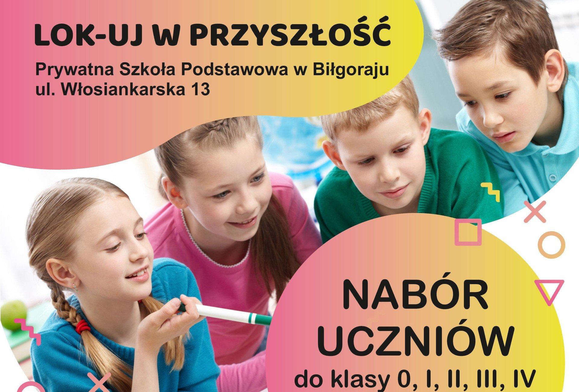 Nabór uczniów na rok szkolny 2019/2020